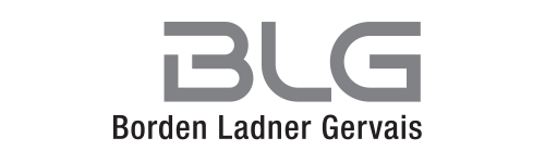 Borden Ladner Gervais Llp Blg Is A Leading National Full Service Canadian Law Firm Focusing On Business Law Commercial Litigation And Arbitration